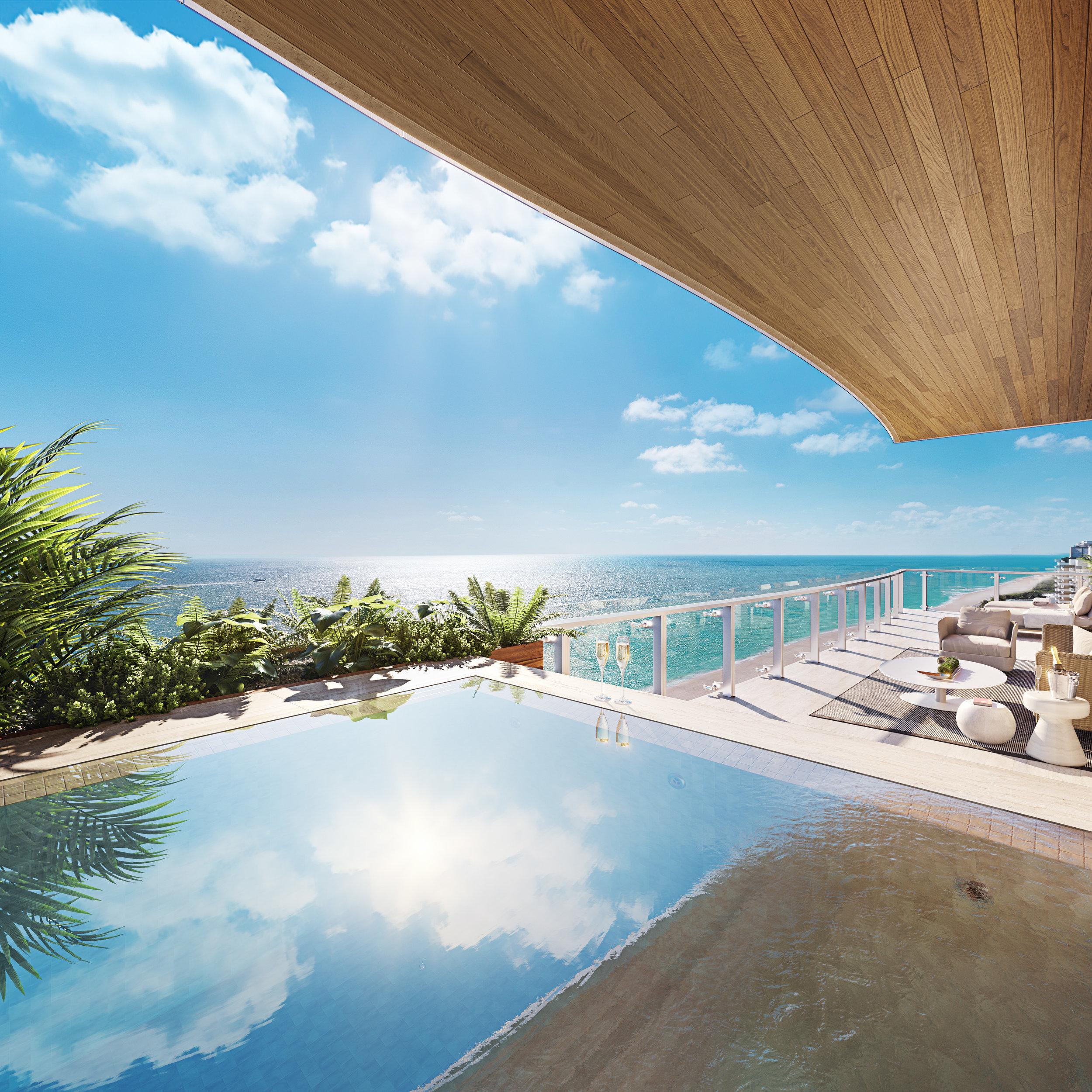 MultiplanREAM's 57 Ocean Reveals Ten Sky Residences Including Exclusive Penthouse Duplex