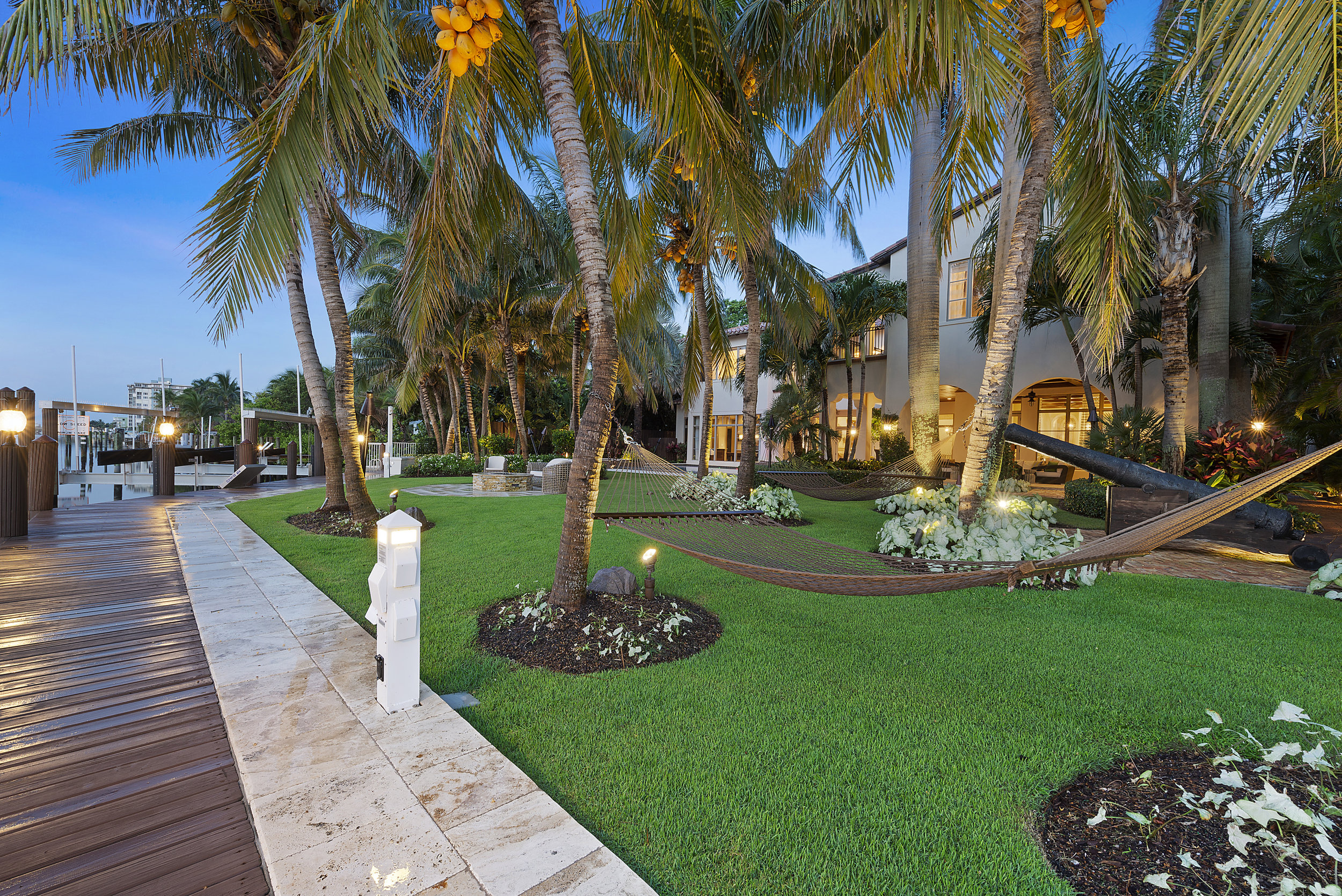Step Inside Delray Beach's Newest $13 Million Waterfront Listing Complete With A Ferrari & Midnight Express