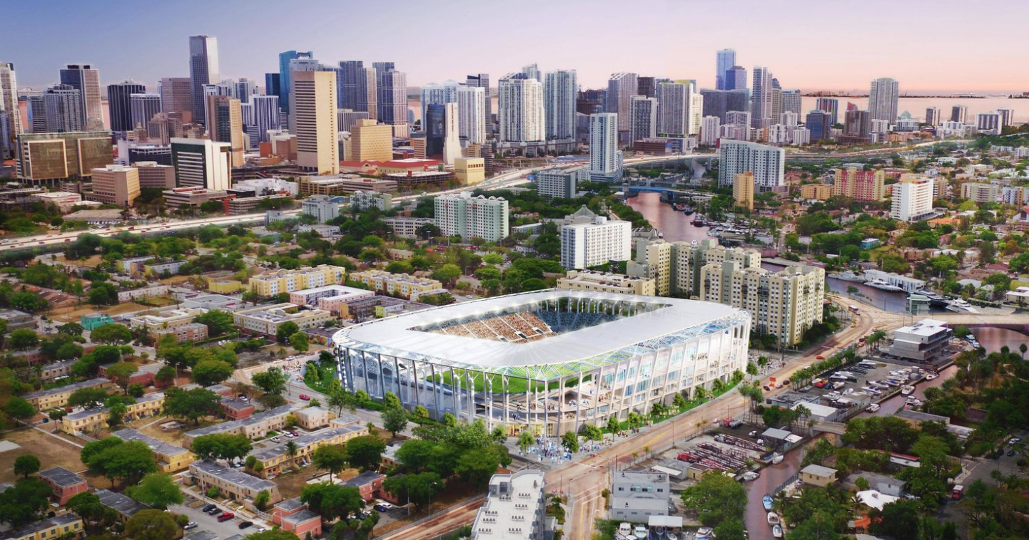 Amid Pushback At Melreese, David Beckham To Apply For Inter Miami FC Stadium Approval At Overtown Assemblage