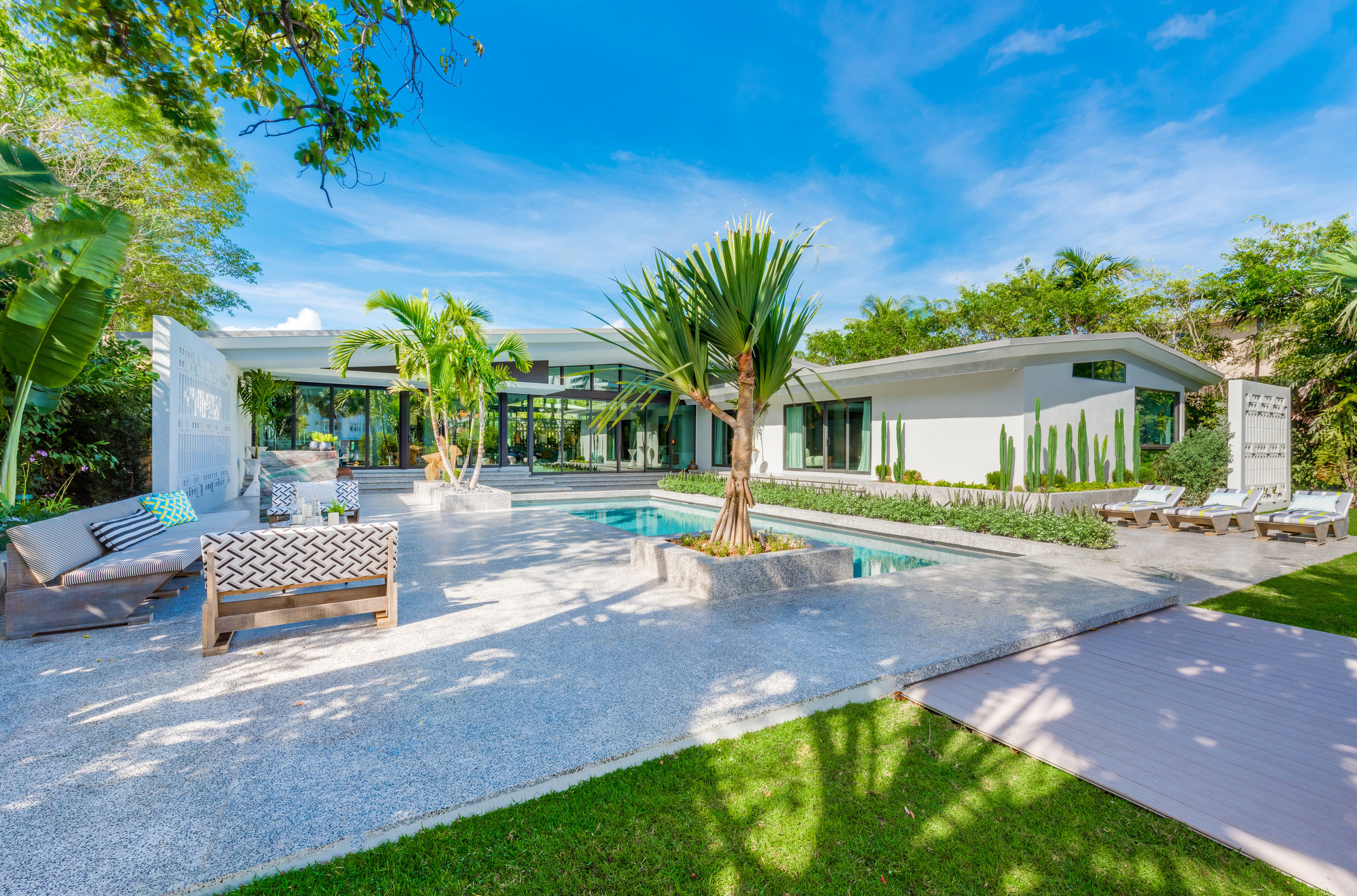 Waterfront Estate On Miami Beach's Flamingo Drive Owned By Designer Jean-Louis Deniot Sells For Record $7.5 Million