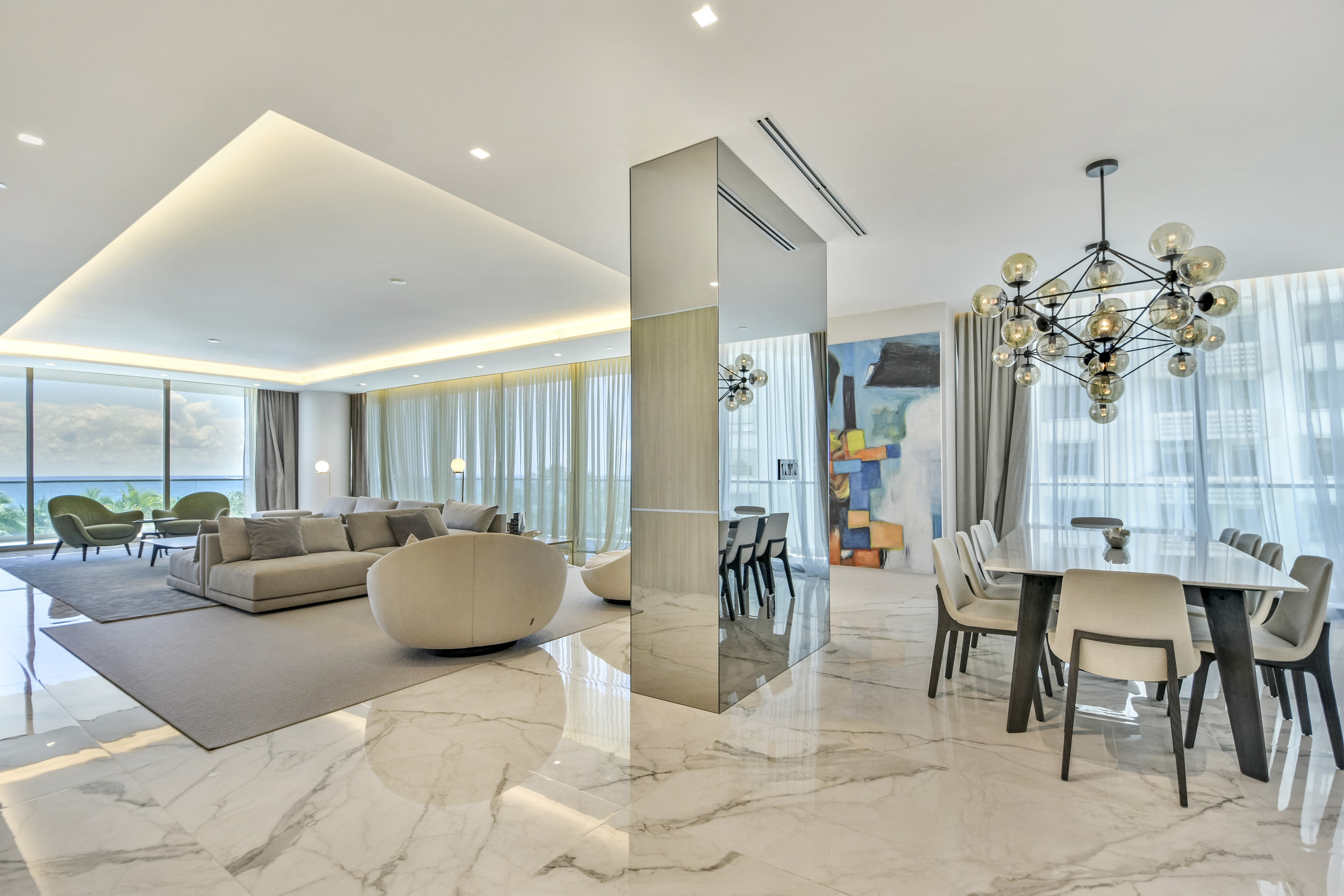 Check Out This Marble Masterpiece Condo In Oceana Bal Harbour Asking $8.49 Million