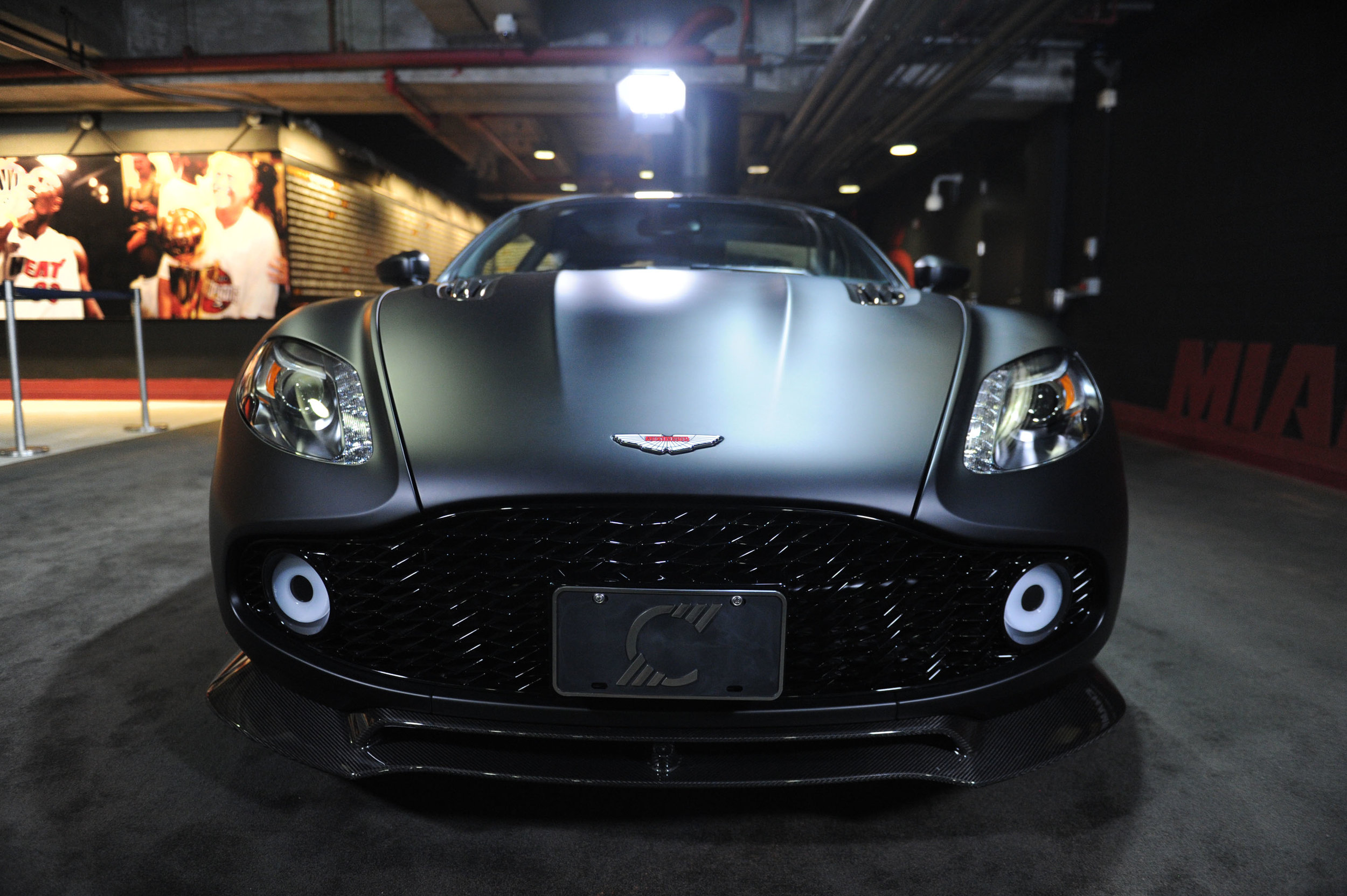 "Aston Martin Zagato Aston Martin Residences and The Miami Heat Present ""Legend's Court"" To Commemorate Premium Corporate Partnership"