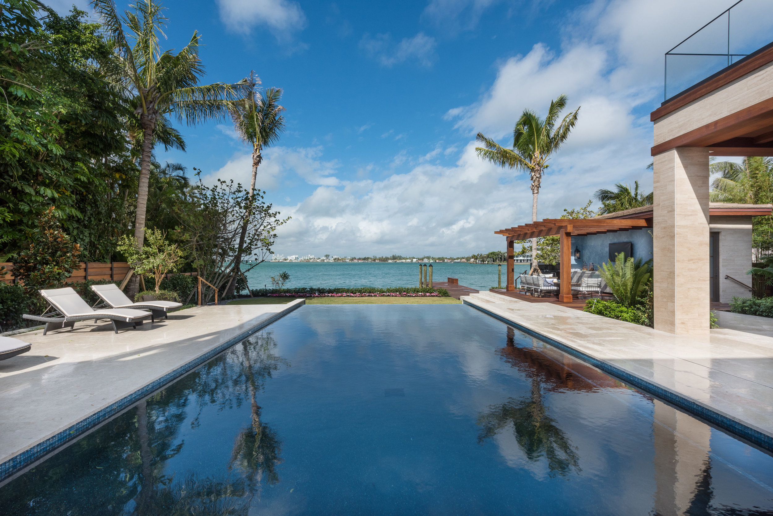 6020 N Bay Road, Miami Beach was listed with Nelson Gonzalez of EWM