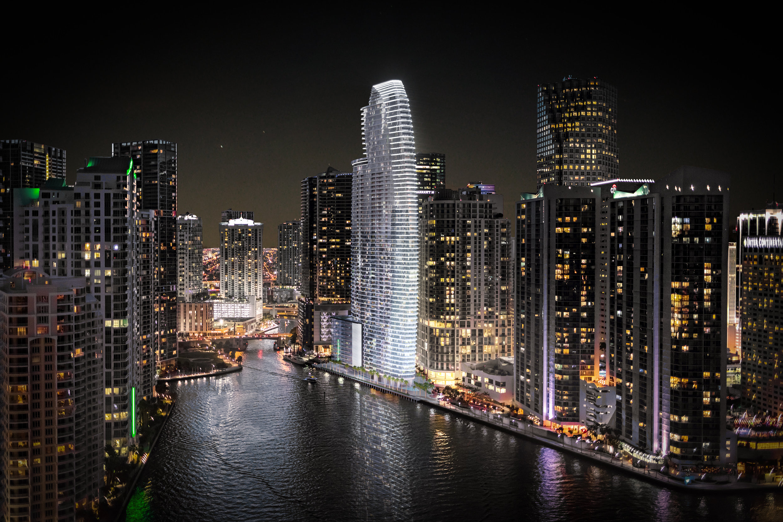 Aston Martin Residences & Coastal Construction Set For Massive 1,400 Truck 30-Hour Concrete Pour