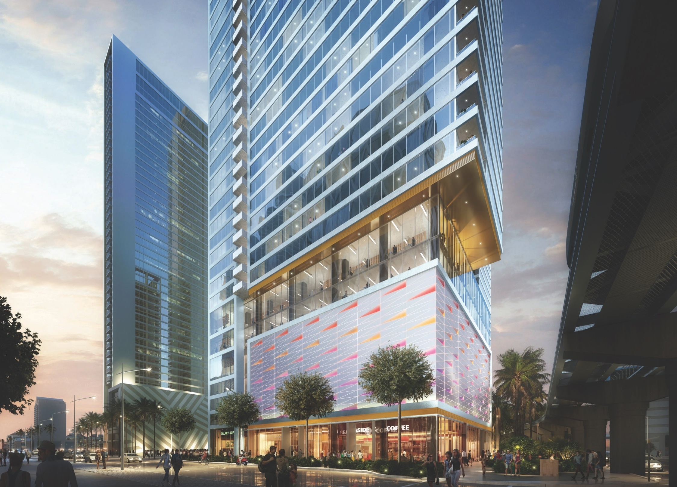 The Perkins + Will-Designed Kenect Miami Revealed At Miami Worldcenter