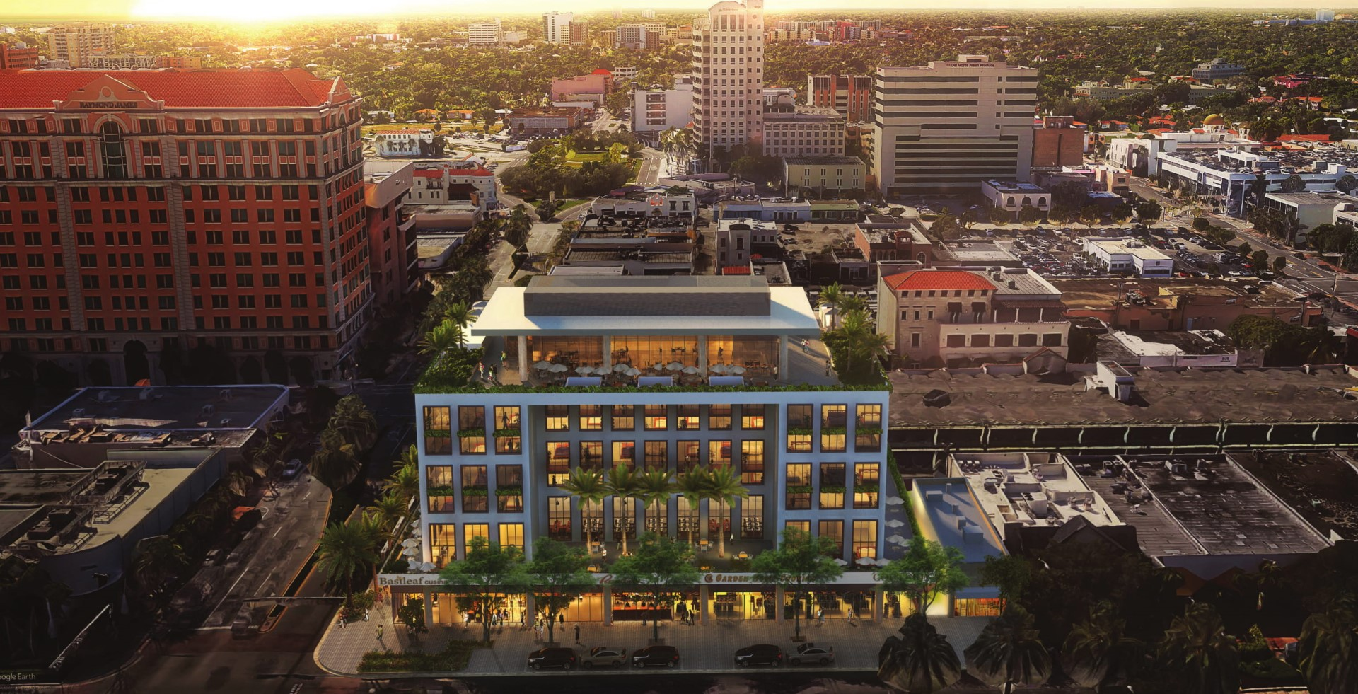 Terranova Reveals Arquitectonica-Designed Hotel On Coral Gables' Miracle Mile