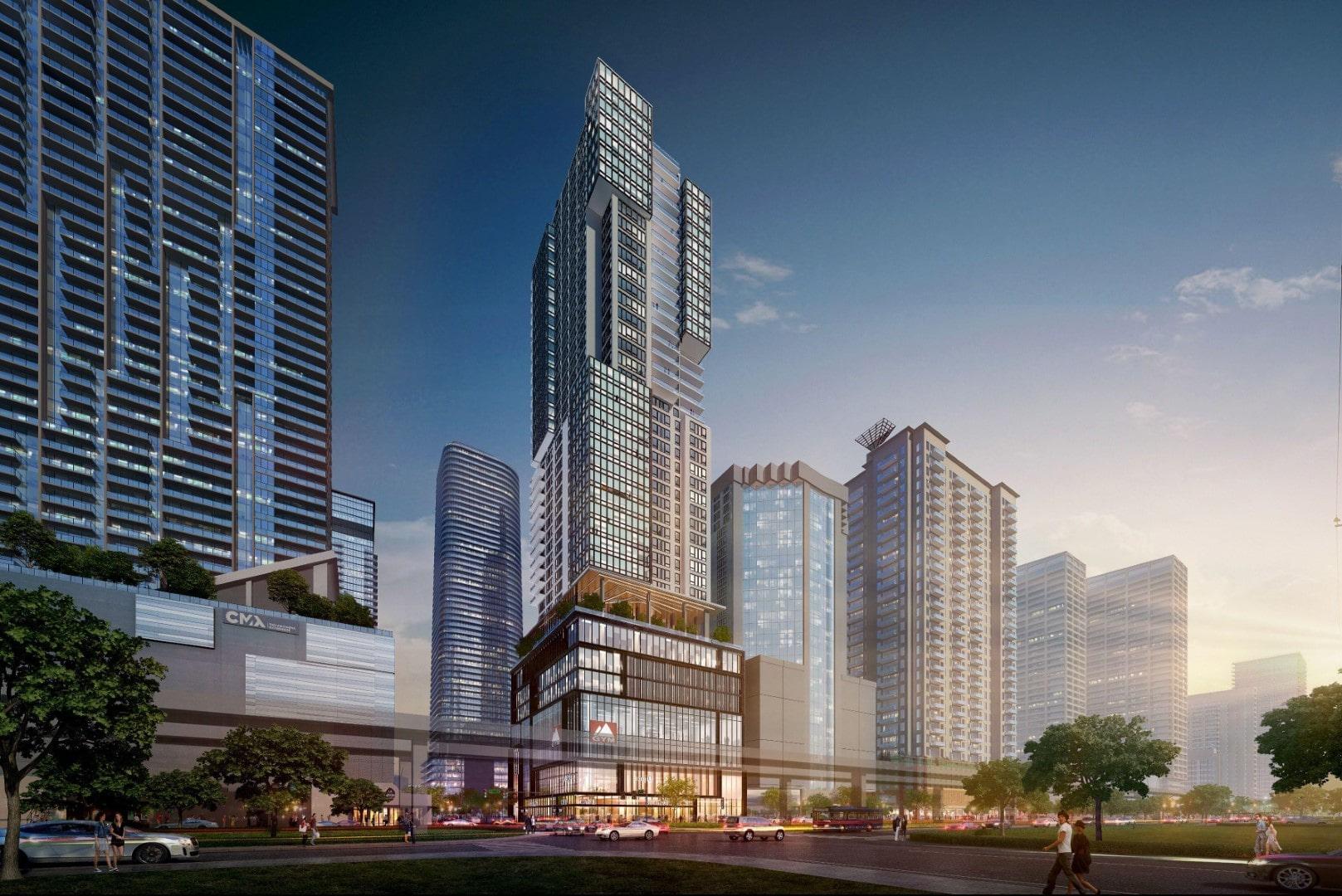 Gazit Horizons Reveals 48-Story Brickell Gateway Tower Next To Brickell City Center