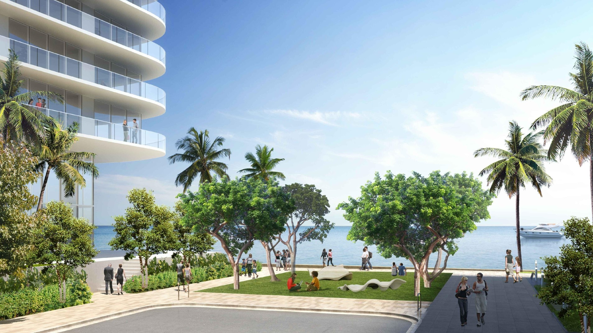 Melo Group Reveals Their Newly Proposed Arquitectonica-Designed Island Bay Project In Edgewater