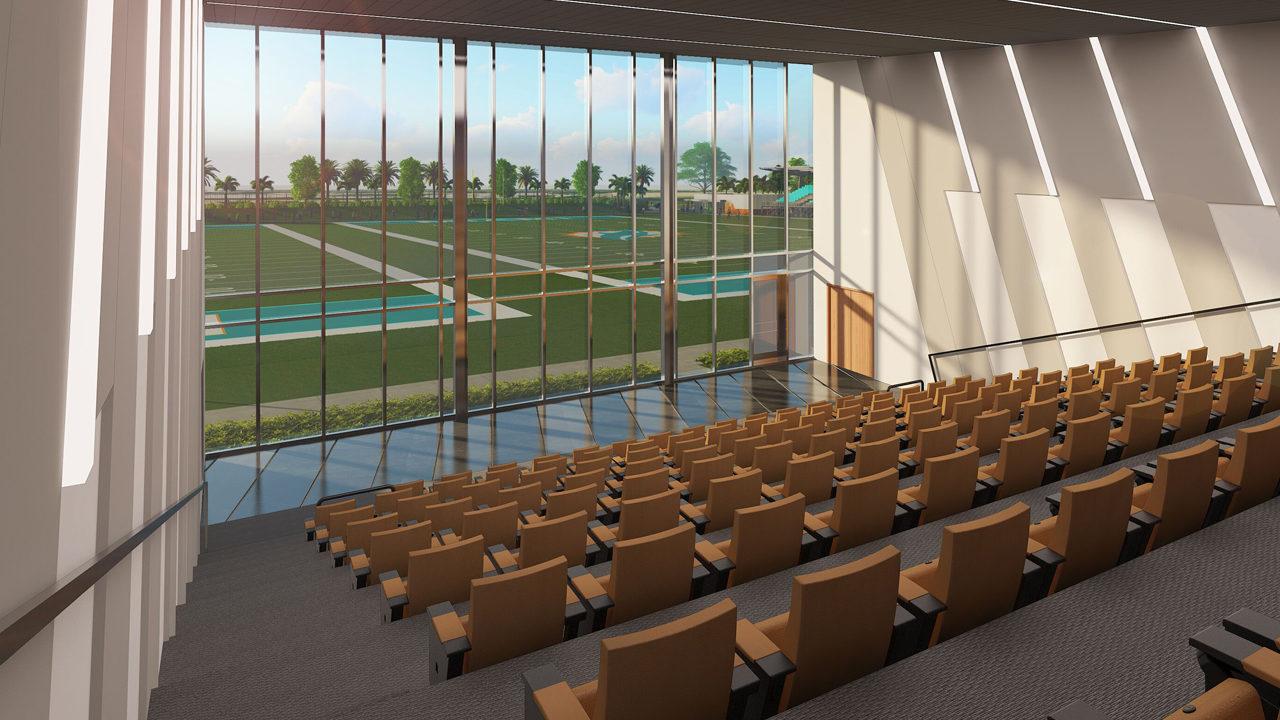 Miami Dolphins Break Ground On Best In Class Training Complex At Hard Rock Stadium