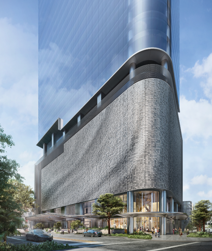 OKO Group Launches The AS+GG Designed 830 Brickell Office Tower In Miami's Financial District