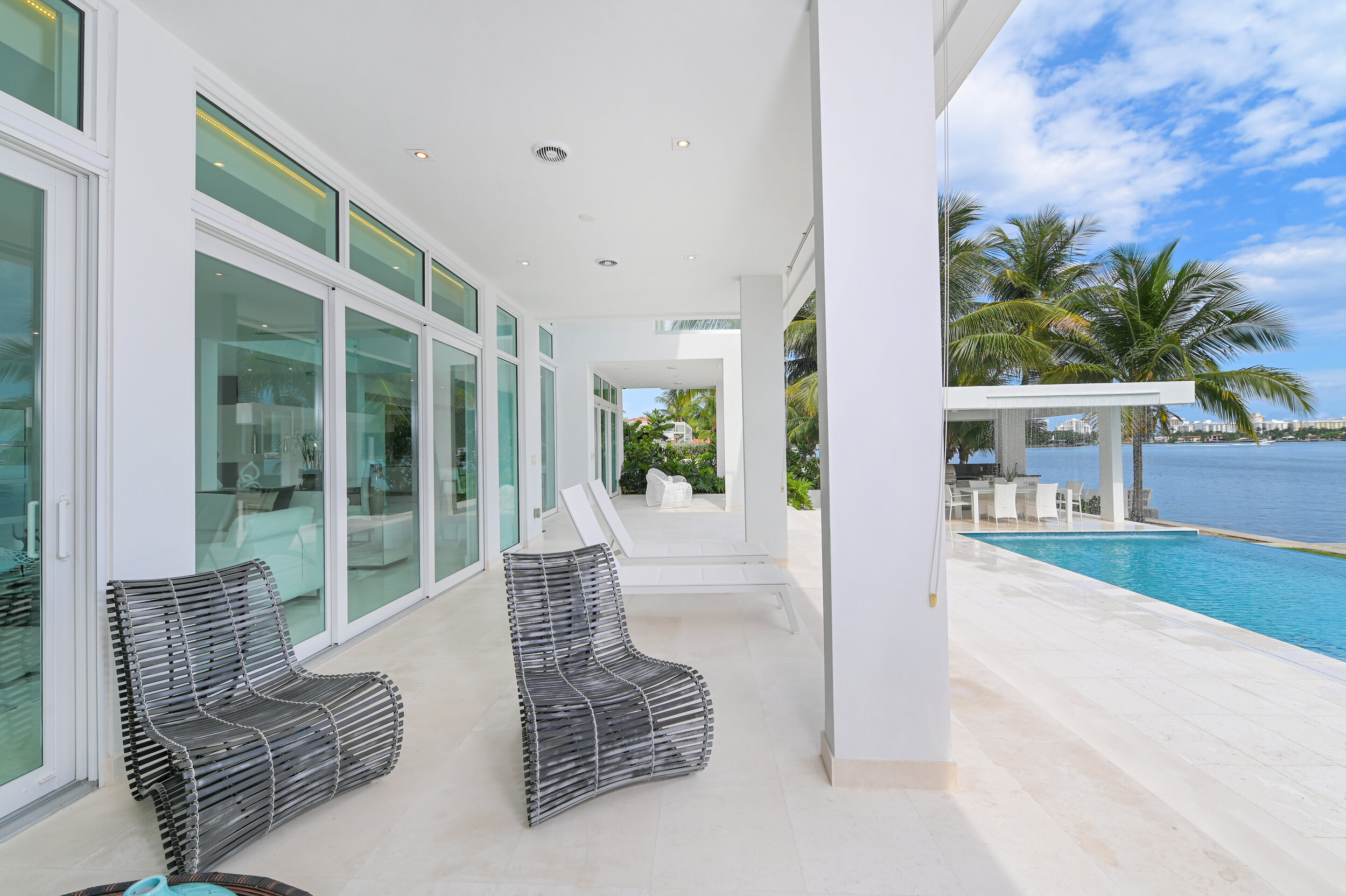Check Out This Sprawling Modern Waterfront Mansion Just Steps Away From Lil Pump's Miami Home