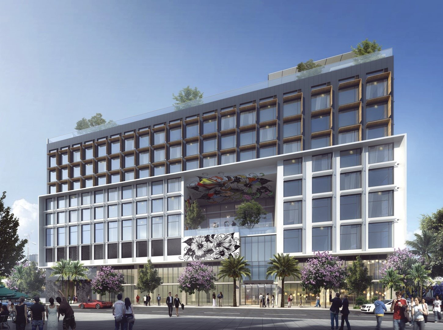 NBWW Architects-Designed Arlo Wynwood Hotel Revealed