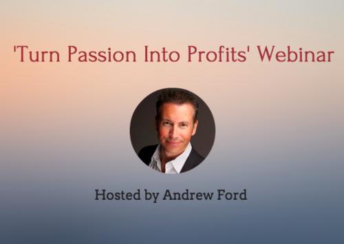 turn passion to profit
