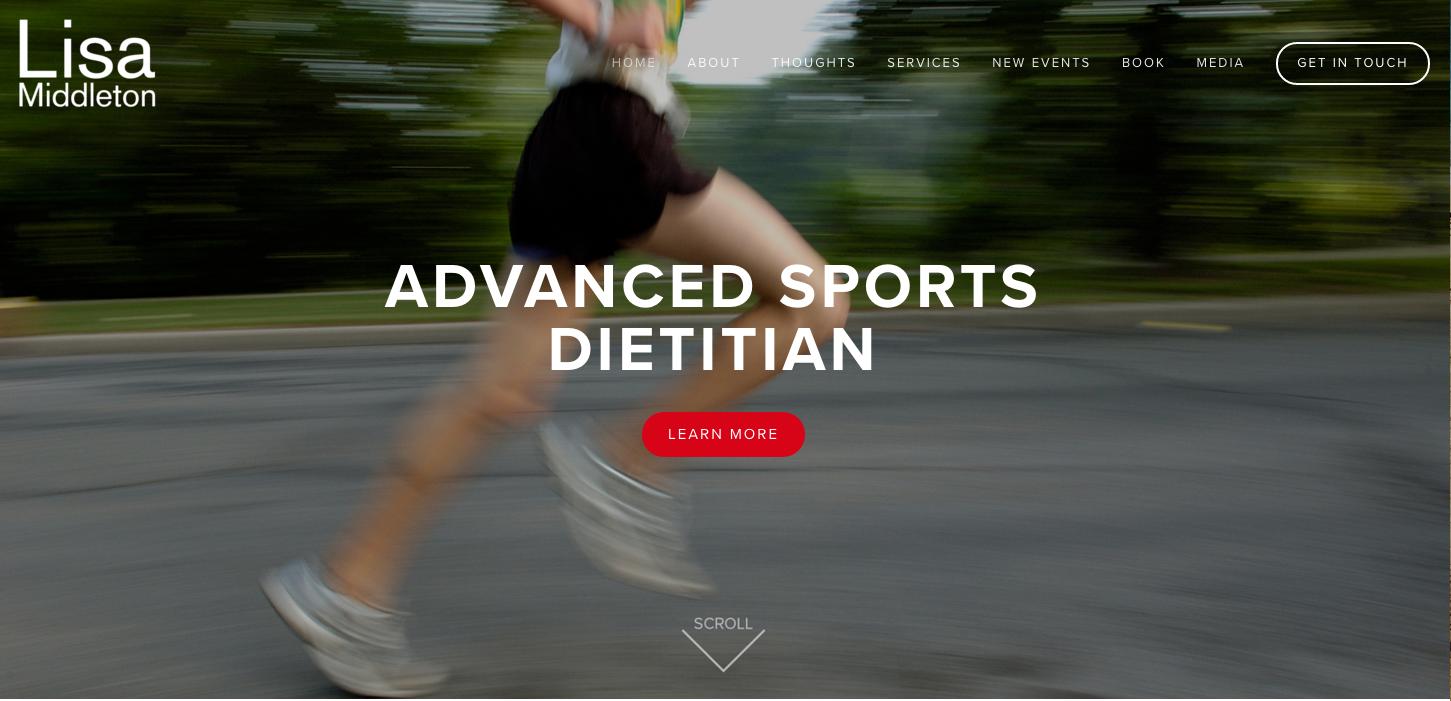 Lisa Middleton website by Social Star