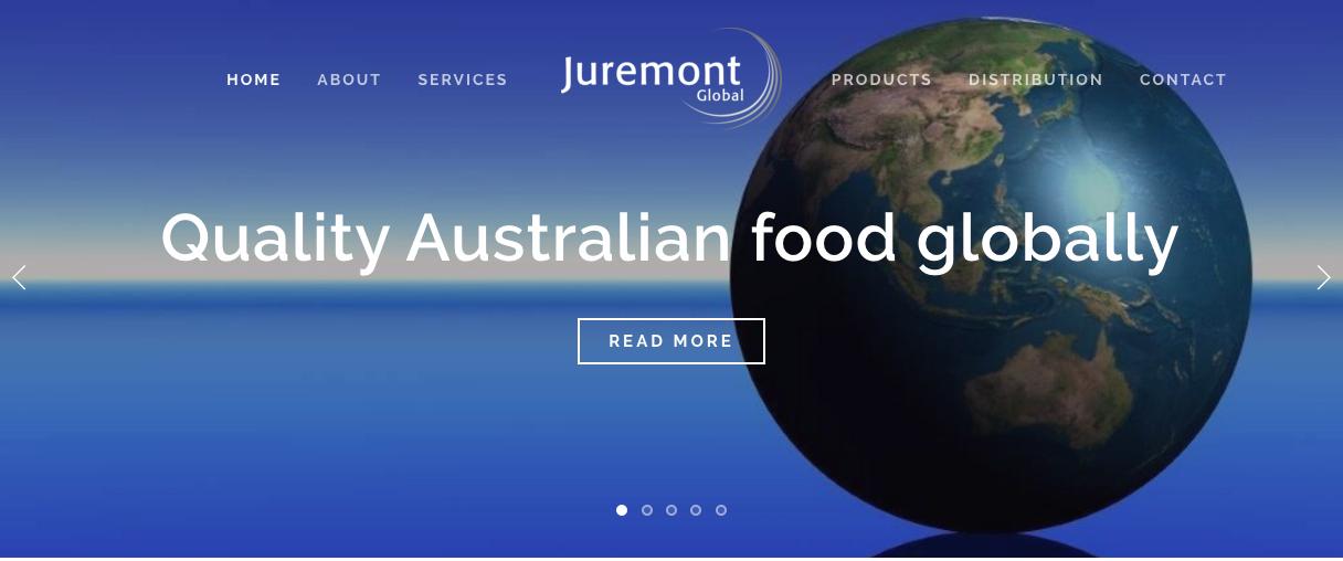 Juremont Global website by Social Star