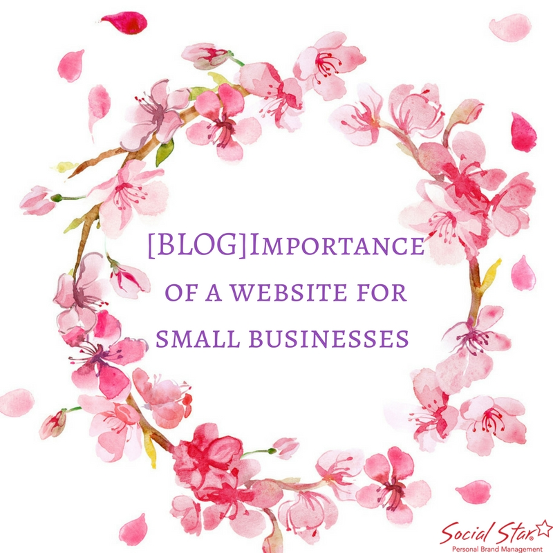 importance of a website