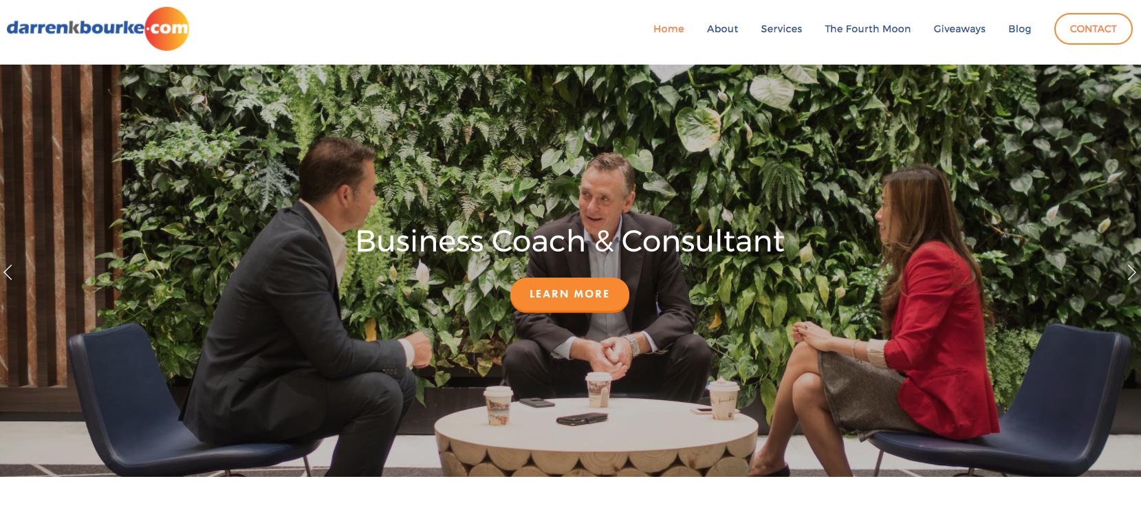 Darren Bourke website by Social Star
