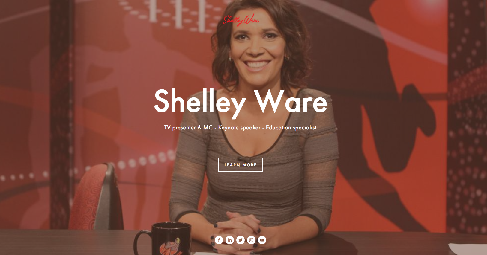 Shelley Ware website by Social Star