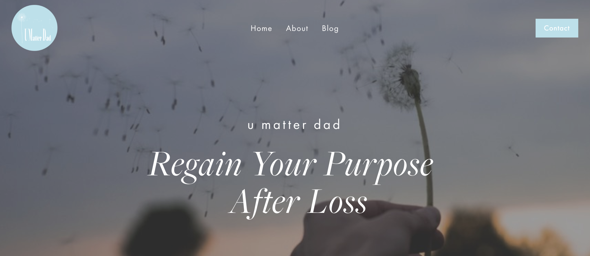 U matter dad home page.png