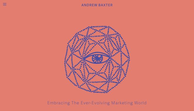 Andrew Baxter website by Social Star
