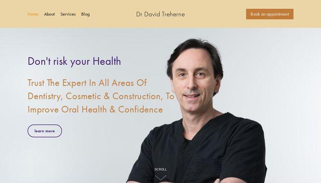 Dentist David Trahern website by Social Star.png