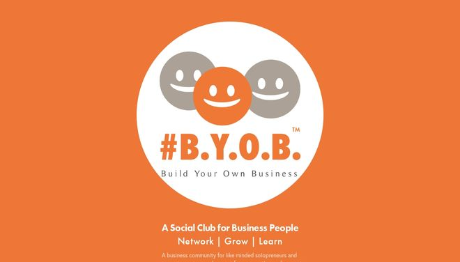 BYOB Social Club website by Social Star