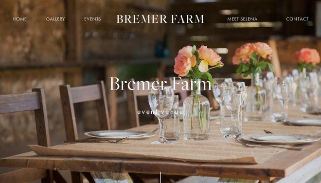 Bremer Farm website by Social Star