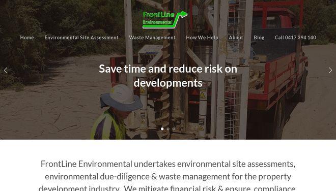 Frontline Environmental website by Social Star.png