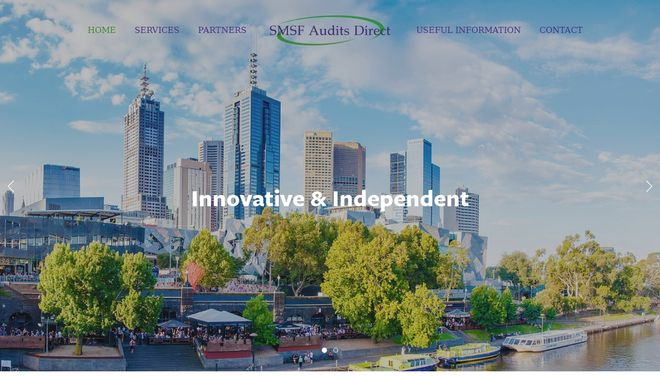 SMSF Audit Direct website by Social Star