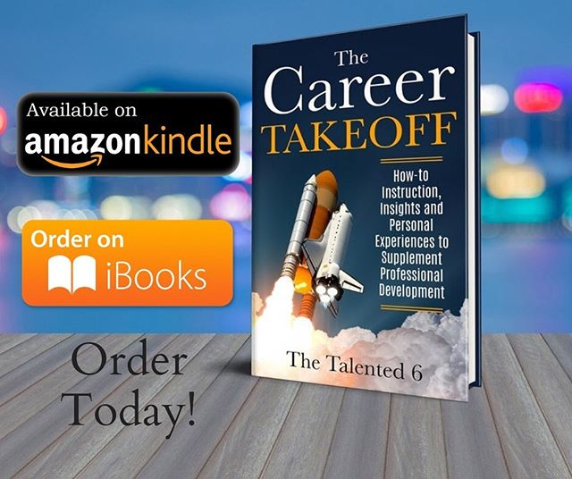 """If you haven't copped our book, """"The Career Takeoff"""" head to the link in our bio and grab your Ebook Copy!! . . . . #blackauthor #books #career #careerdevelopment #youngprofessional #blackprofessionals #clevelandprofessionals #columbusprofessionals #clevelandyoungprofessionals #columbusyoungprofessionals #books #resumebuilding #blackmentorship"""