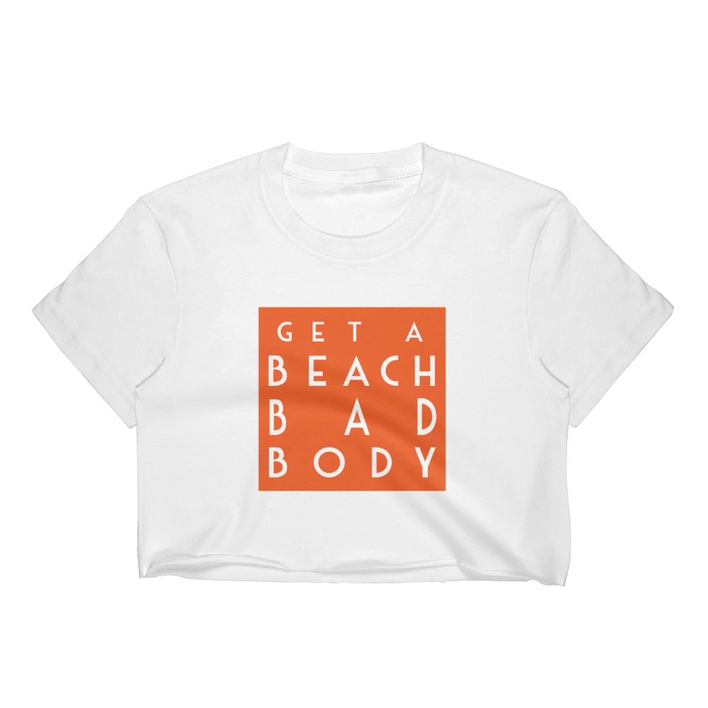 For a limited time only, receive one Get a Beach Bad Body T shirt with bag purchase.