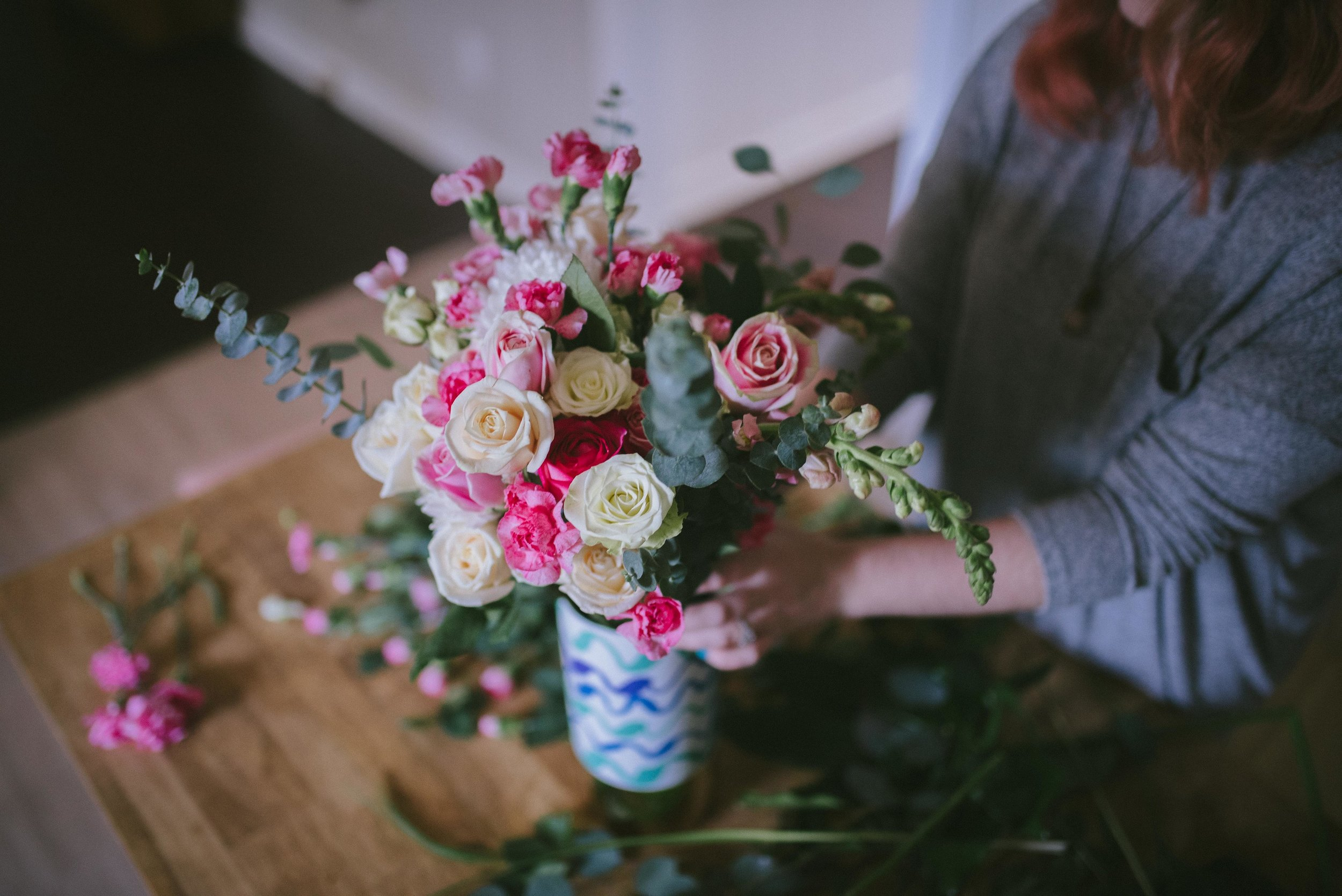Building a Bouquet on a Budget - Bouquet DIY