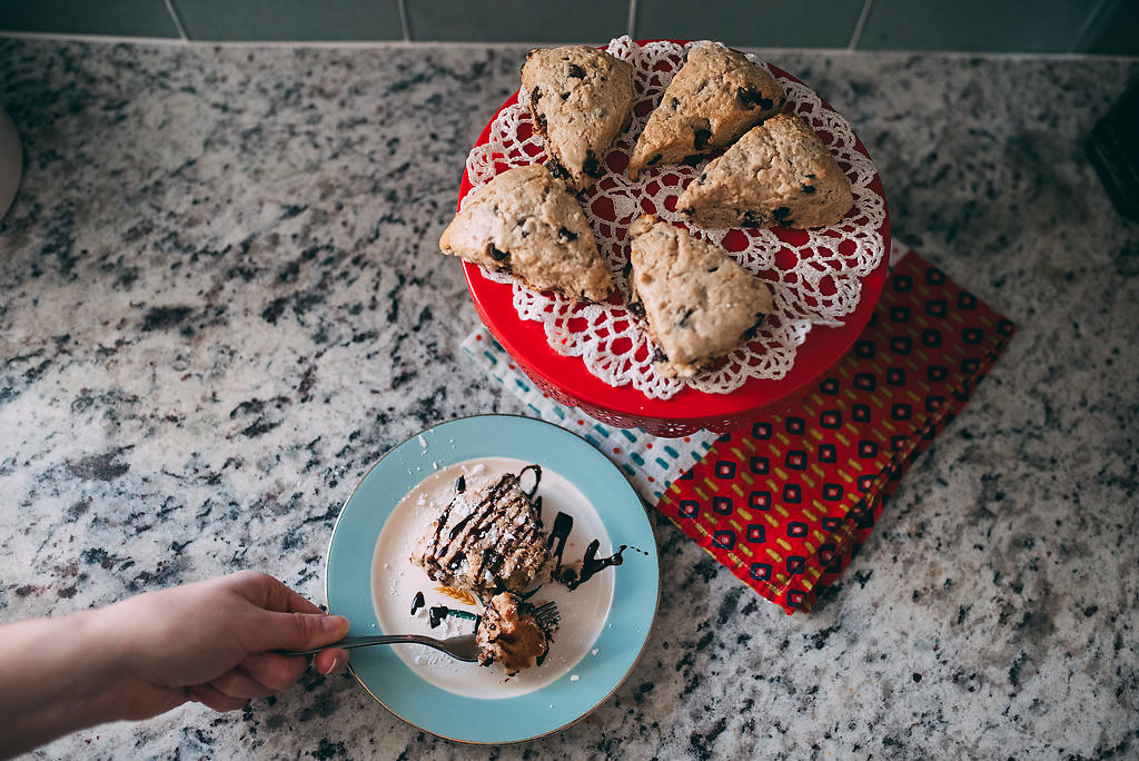 Delicious Chocolate Chip Scone Recipe