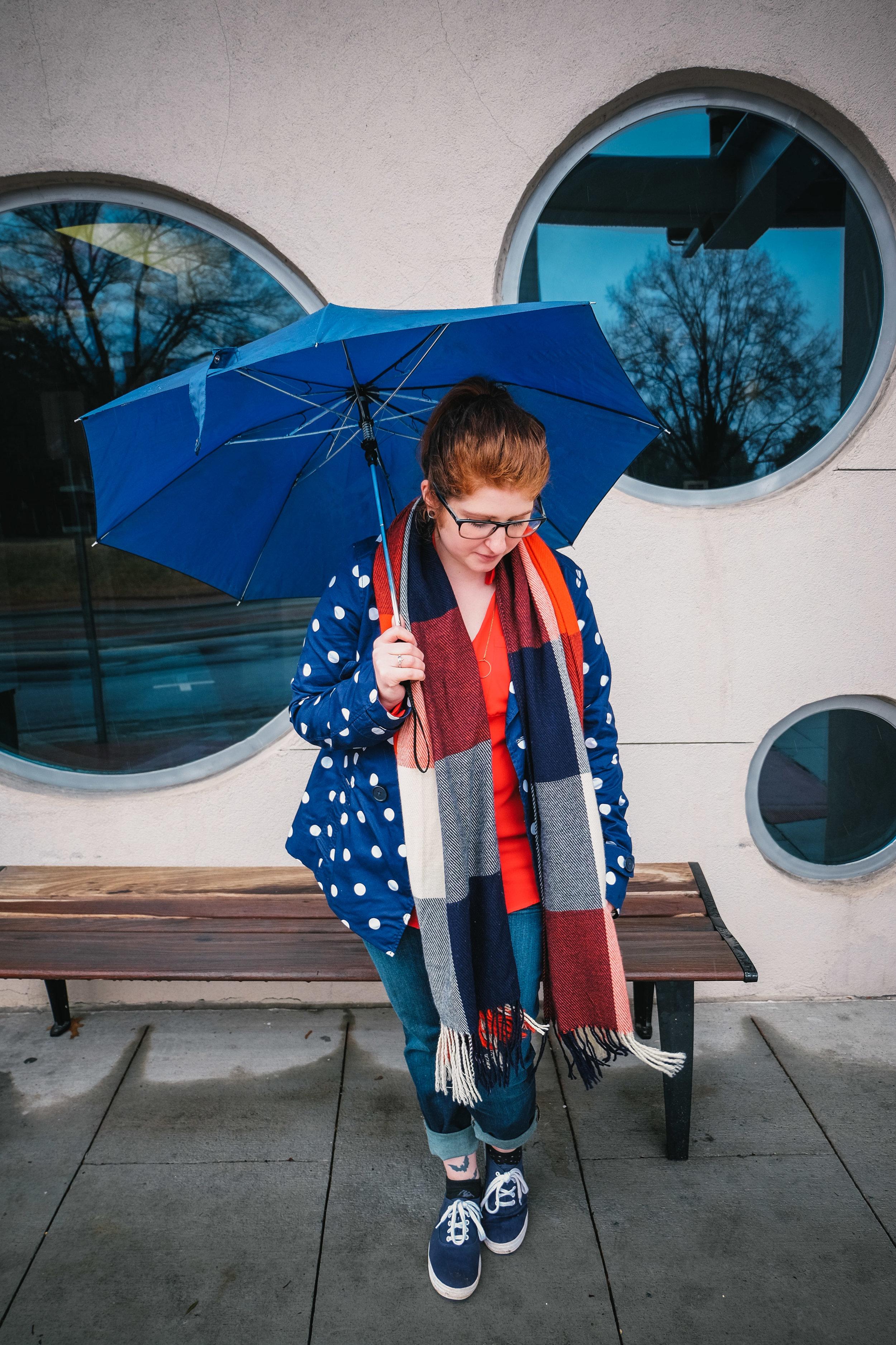 rainy day outfit - fashion blog - lifestyle blog - rainy fashion