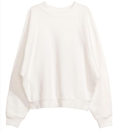 H & M Oversized Sweatshirt (similar)