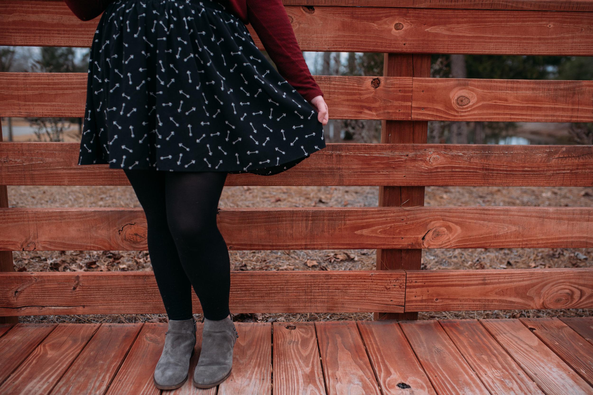 valentine's outfit - fashion blogger - wardrobe wednesday