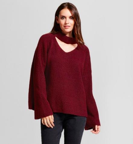 Target- Red Sweater (Similar)