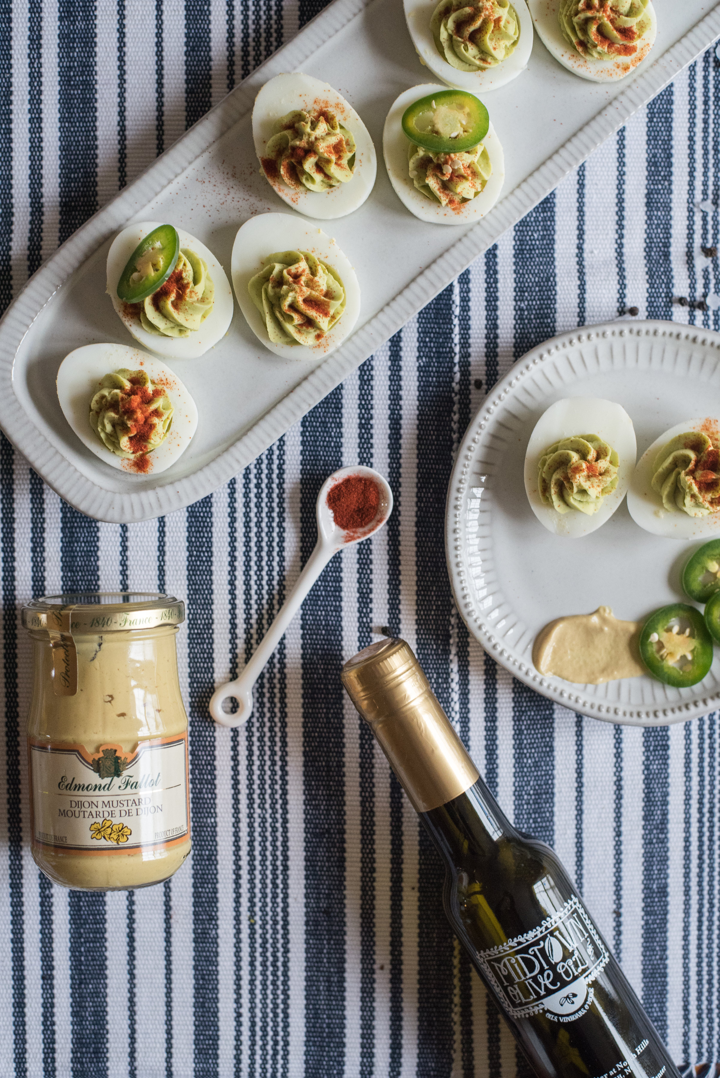 jalapeno deviled eggs - food blogger - lifestyle blog - food photography