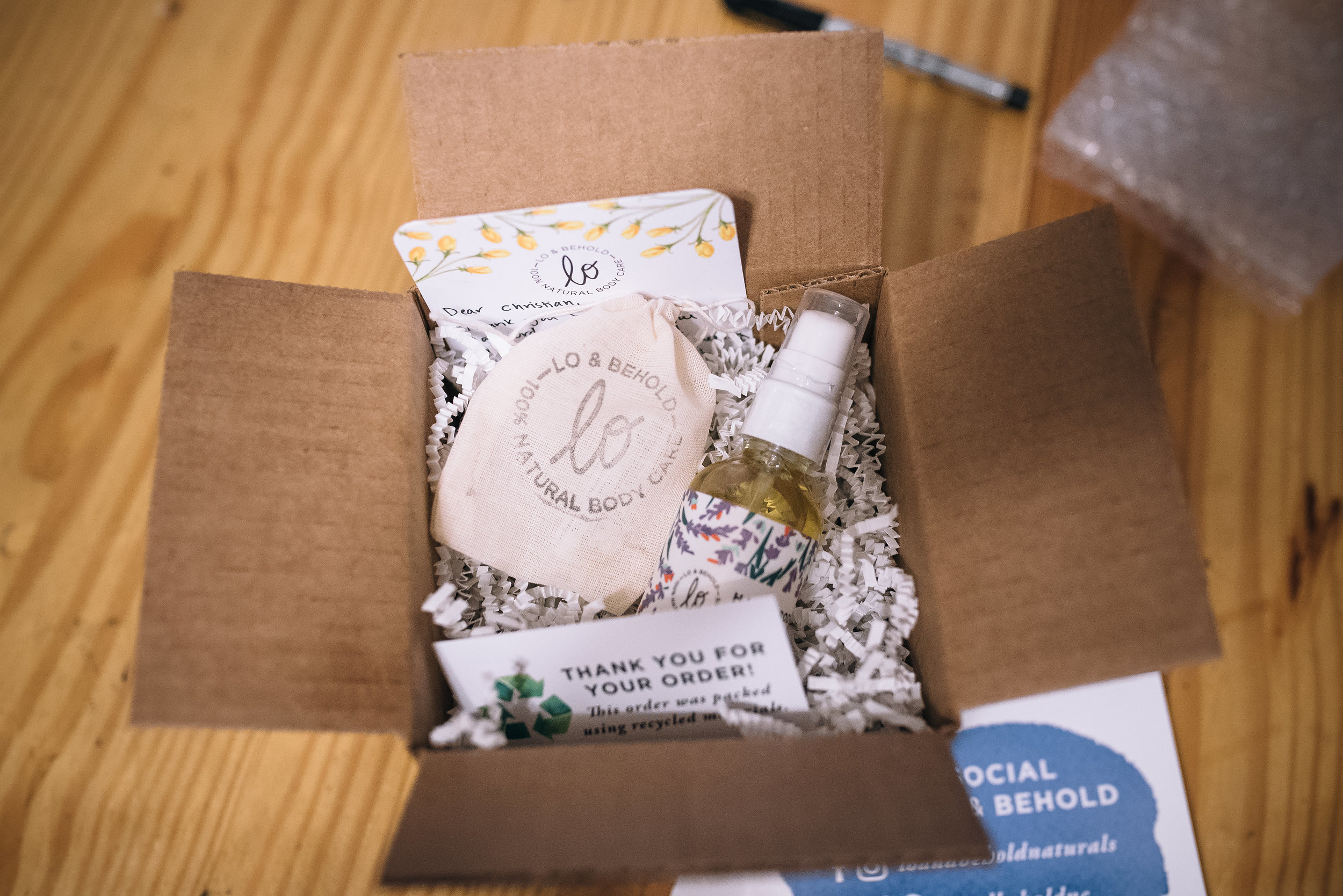 lo & behold naturals - creative community - women in business