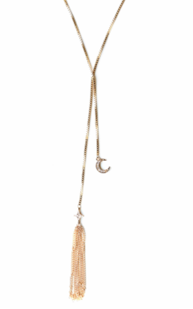 Ettika Tassel Lariat Necklace - Nordstrom (similar)