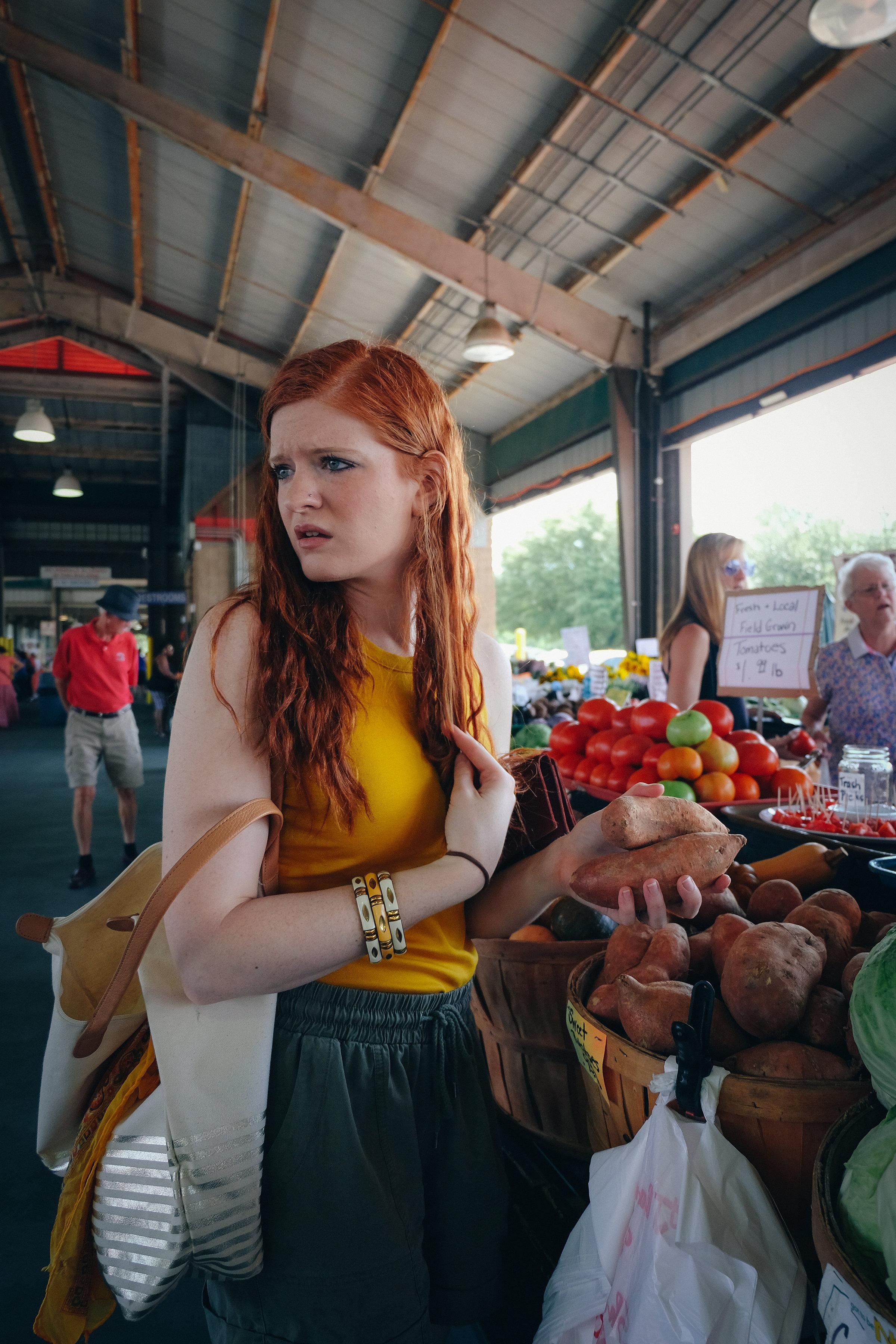 North Carolina State Farmer's Market - State Farmer's Market - Farm to Table Movement - Raleigh Lifestyle Blogger - Organic