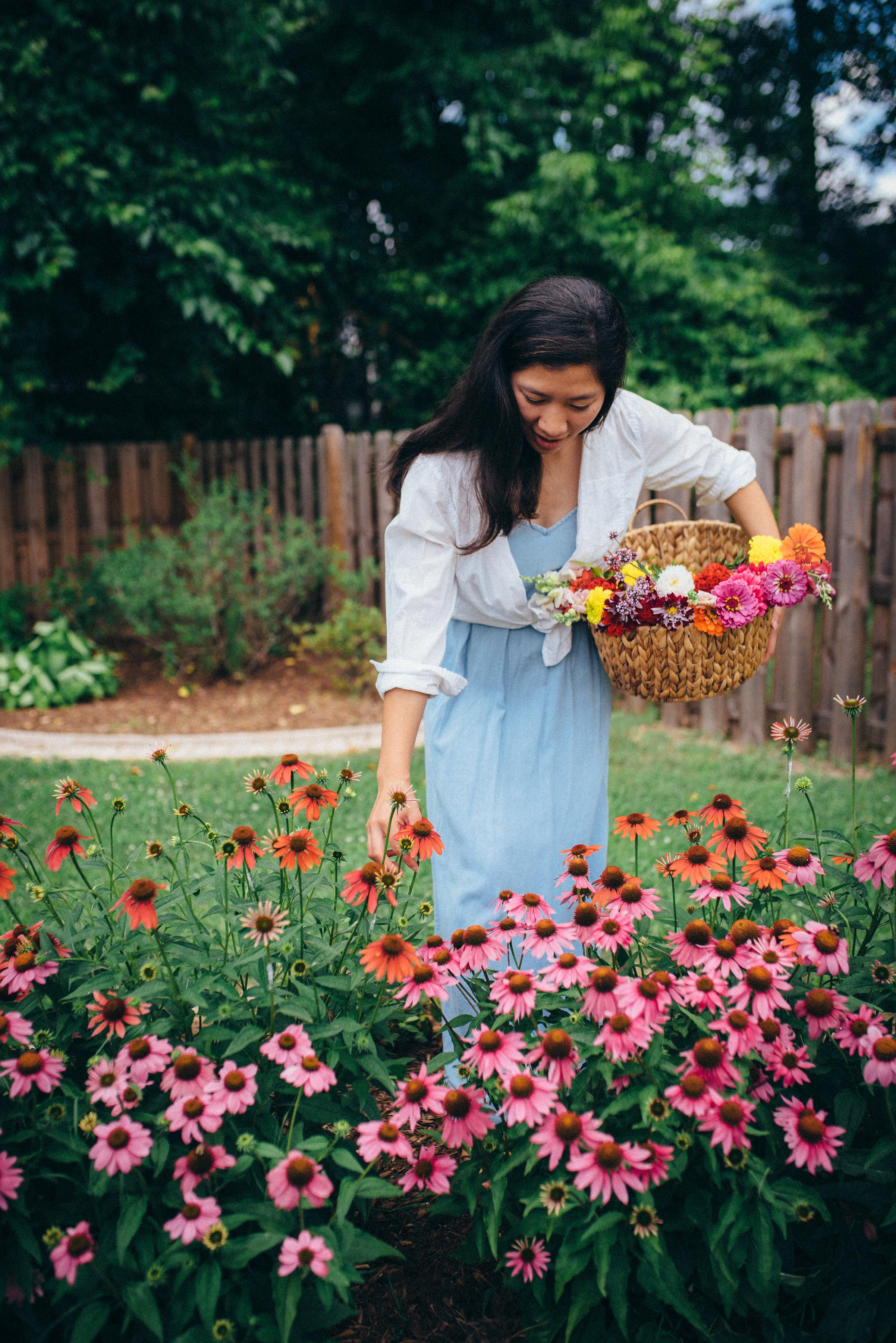 summer flowers - summer gardening tips - north carolina lifestyle blog