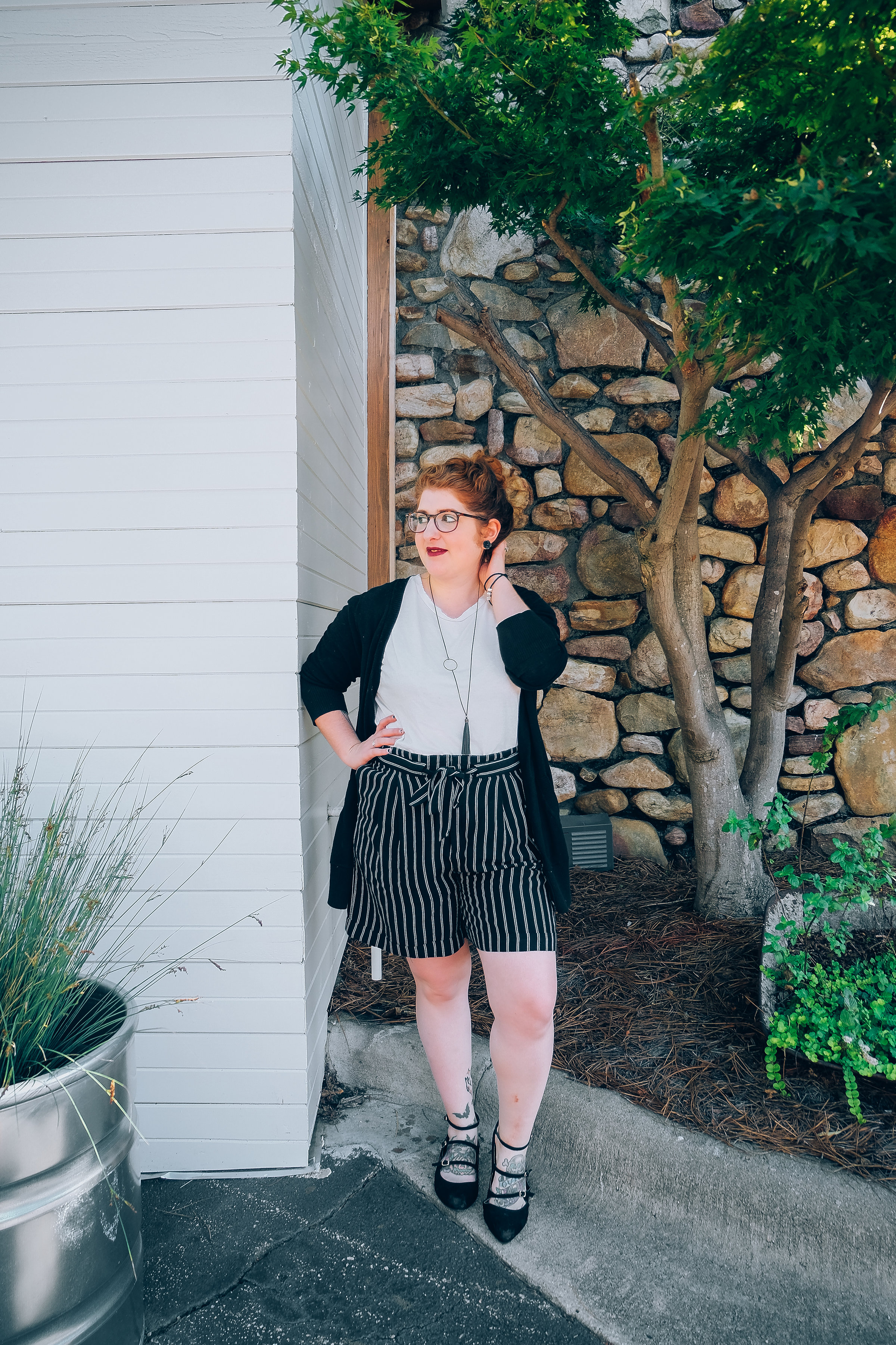 how to wear high waisted - creative community - fashion blog
