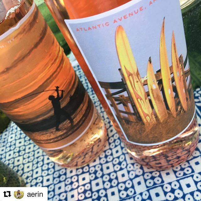 #Repost @aerin Summer has started. Love the  Rose from Cinque Family Wines