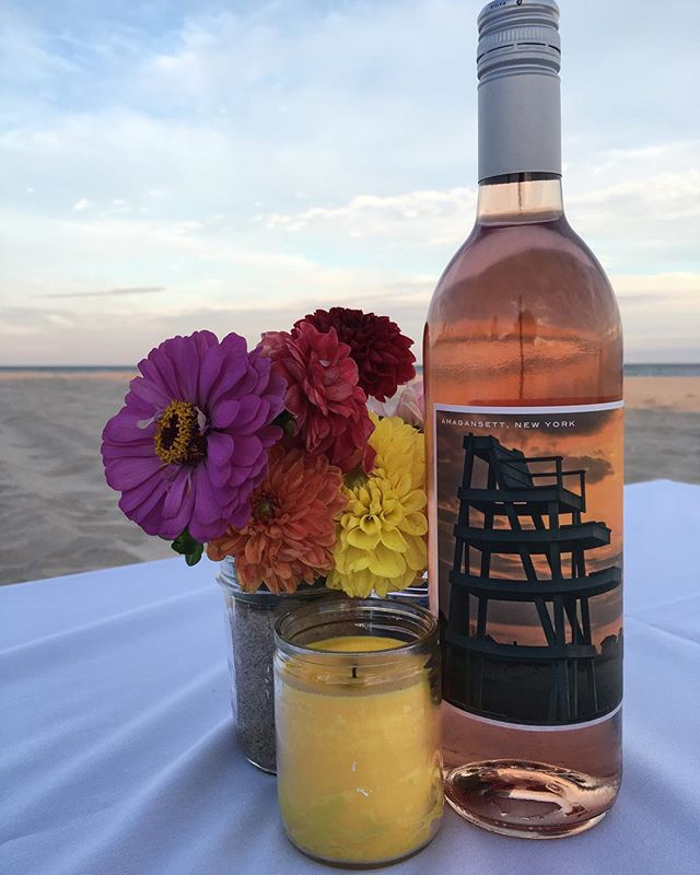 End the weekend with a bottle of our Amagansett Cuvée Rosé.