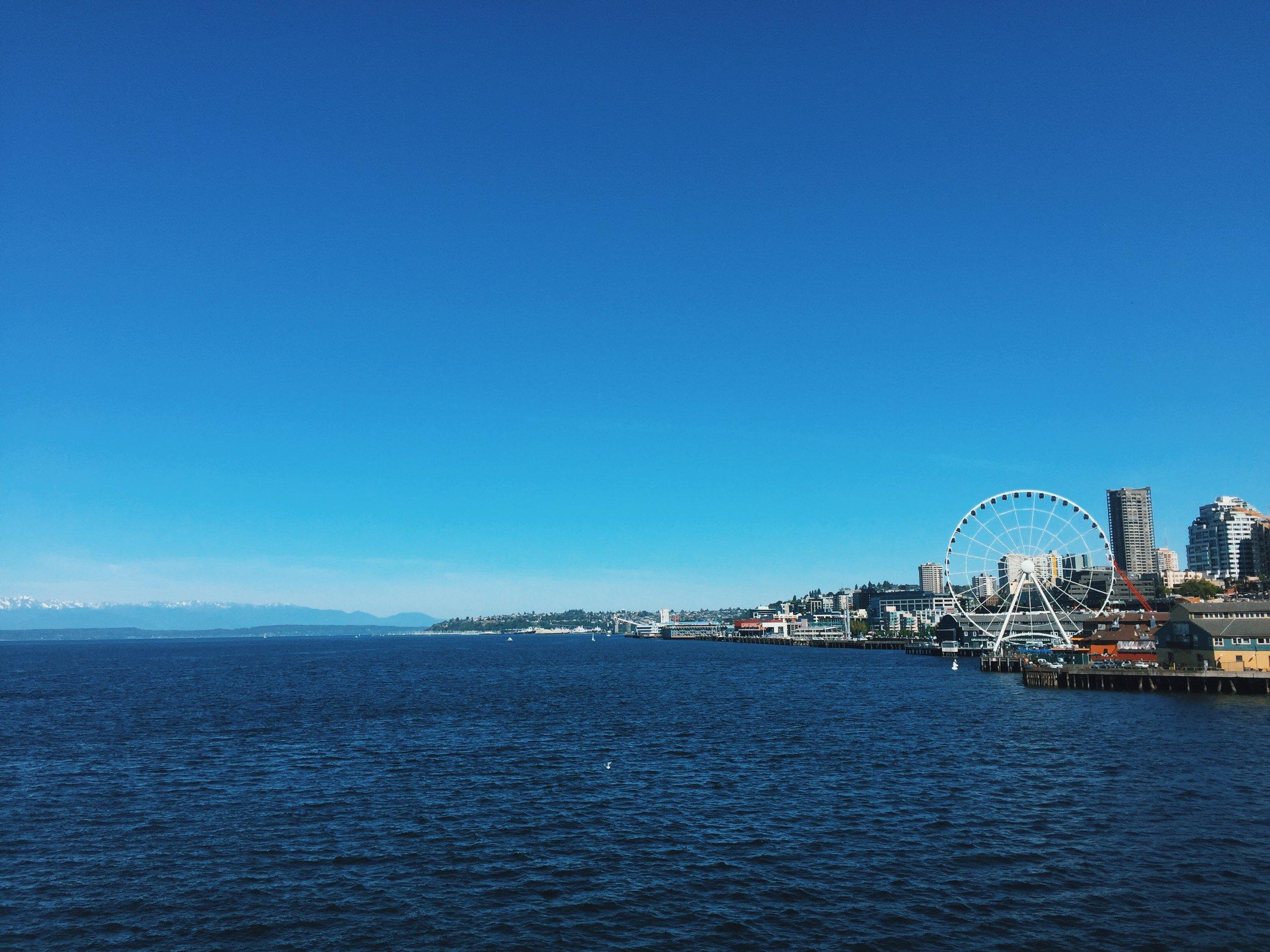 Ferry Seattle WA