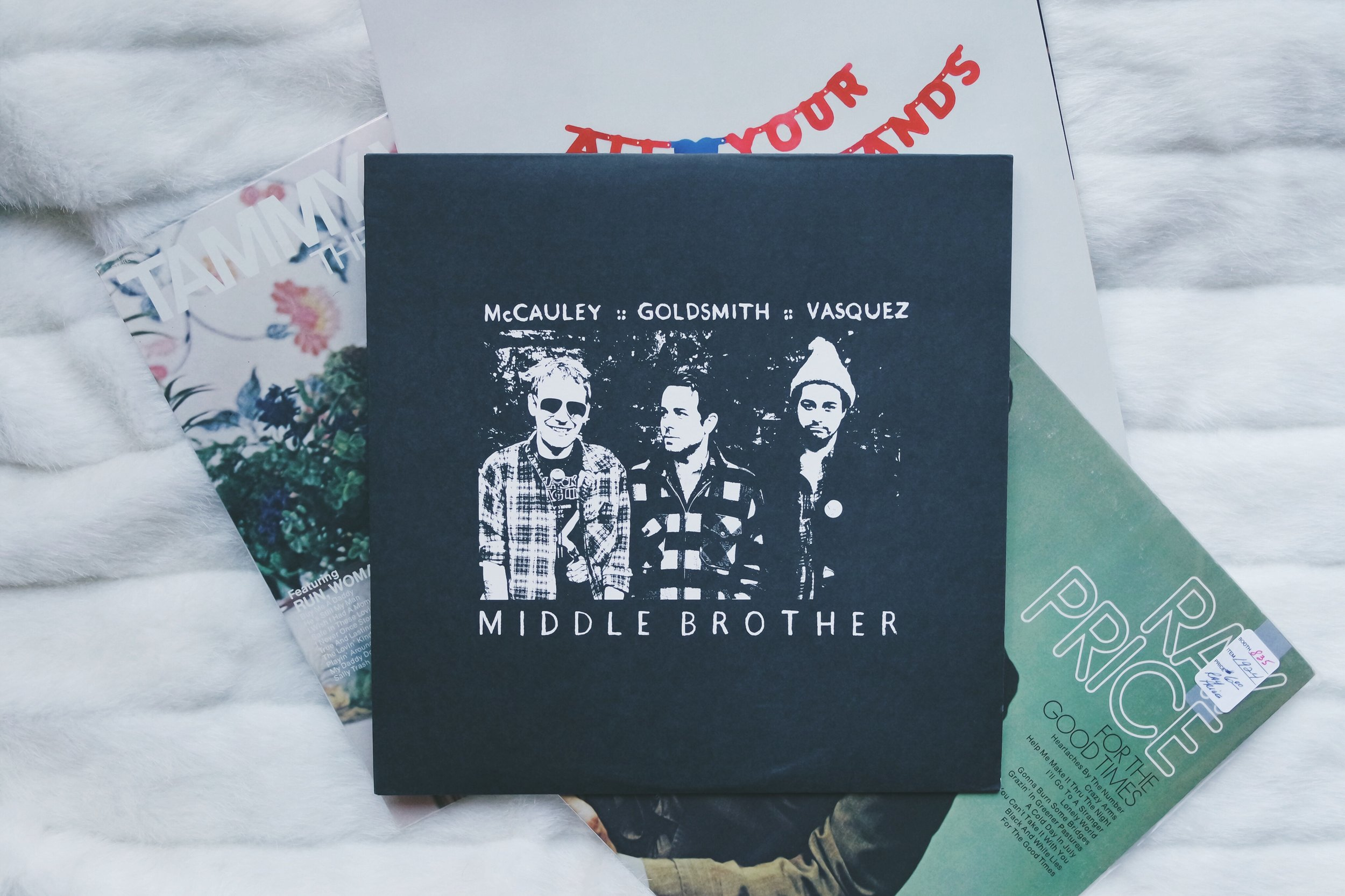 Middle Brother Vinyl