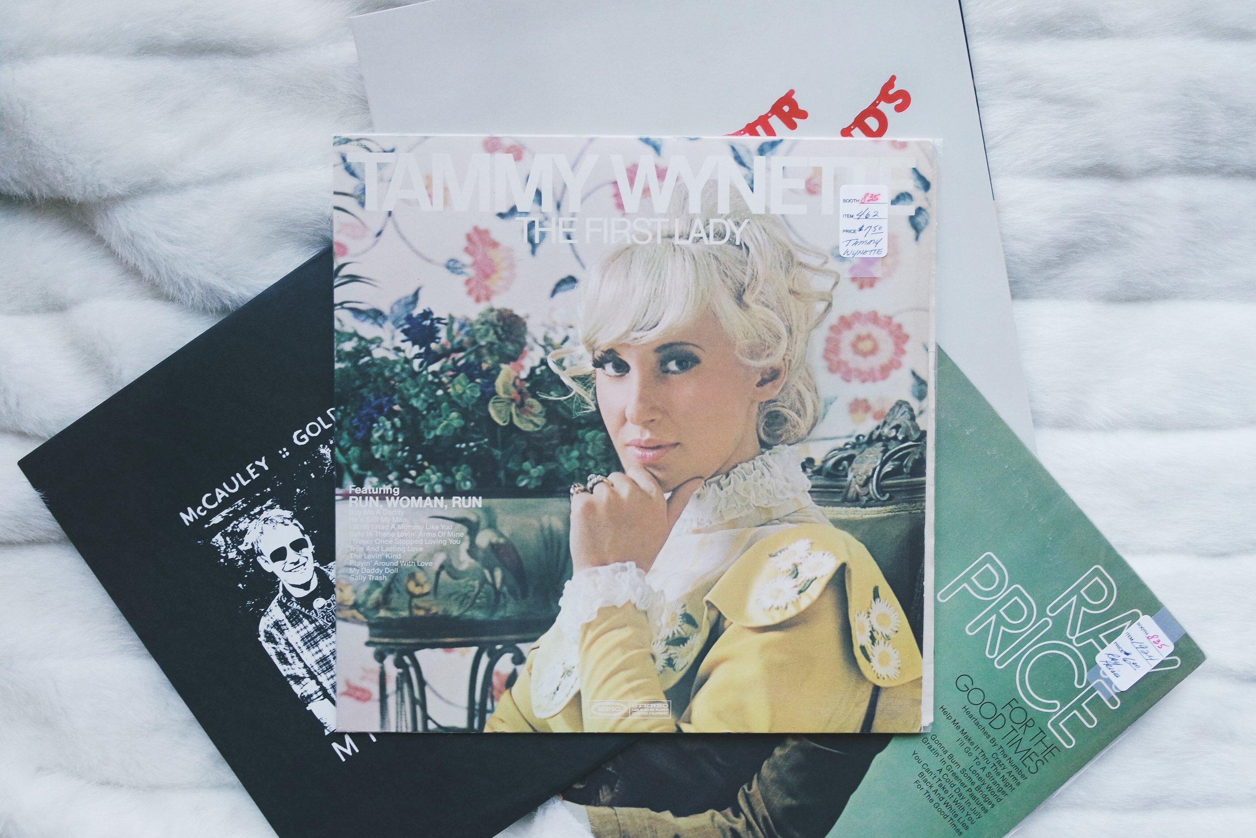 Tammy Wynette Vinyl