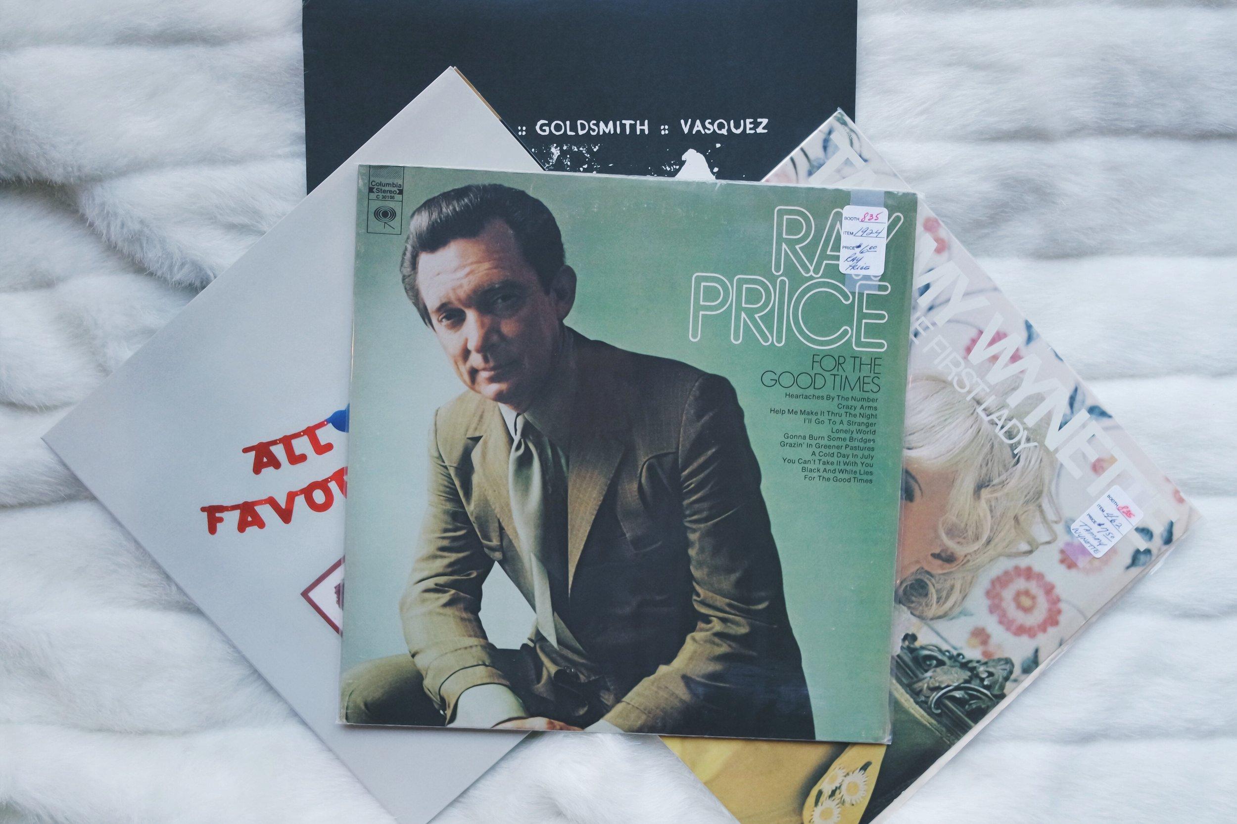 Ray Price Vinyl