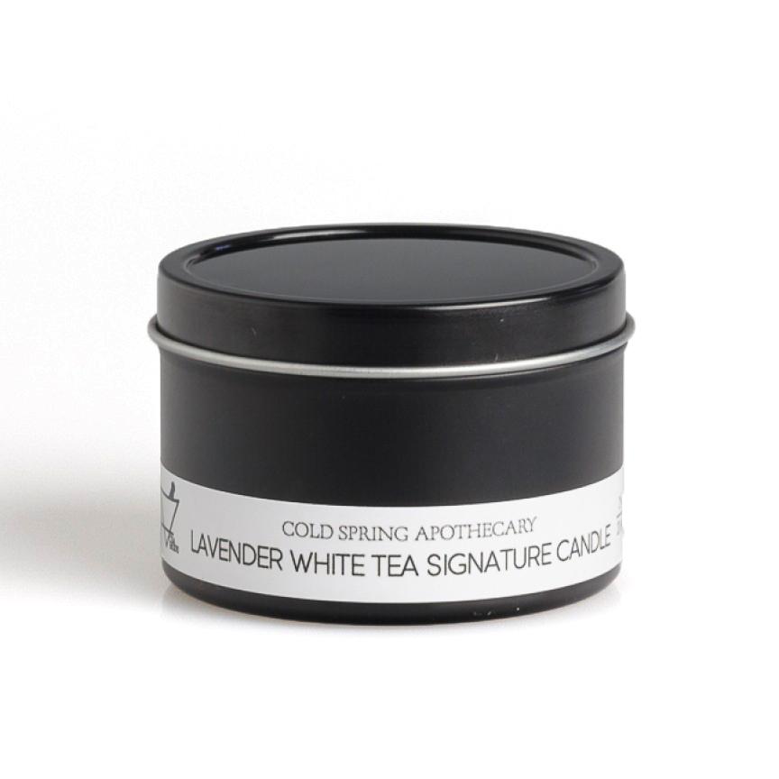 アロマトラベルキャンドル ラベンダーホワイトティー Travel Candle Lavender White Tea